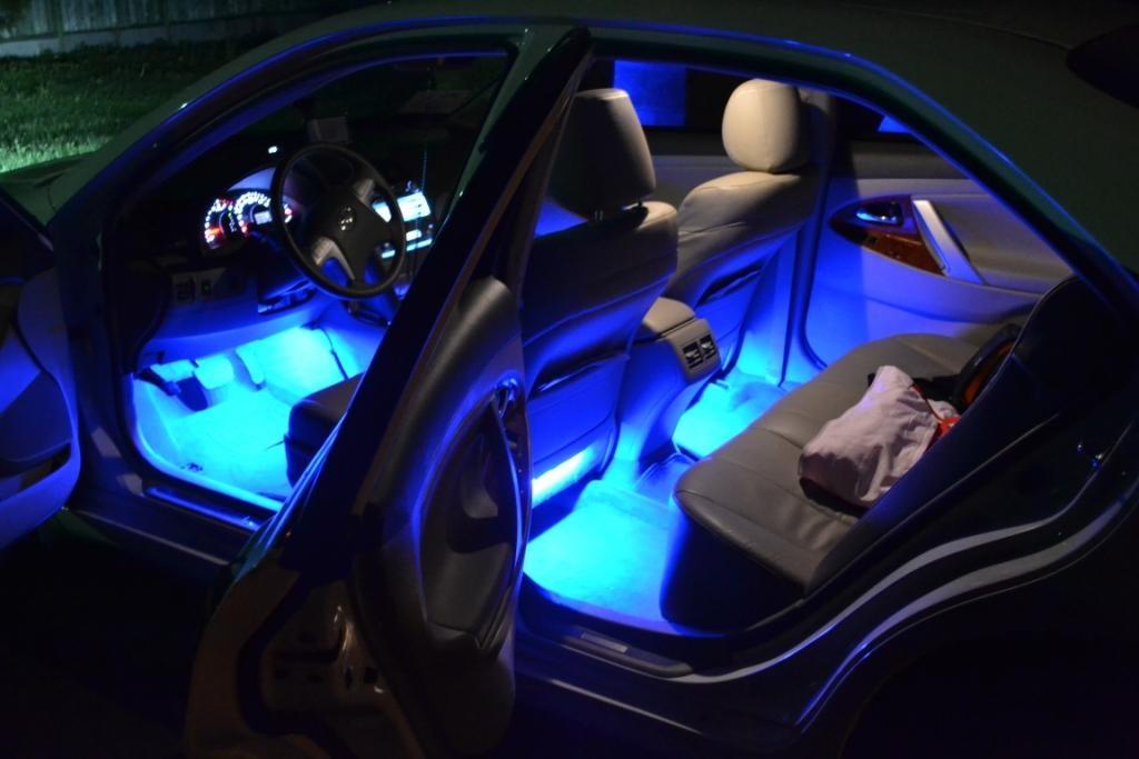 Как сделать светодиодную лампу на авто своими руками