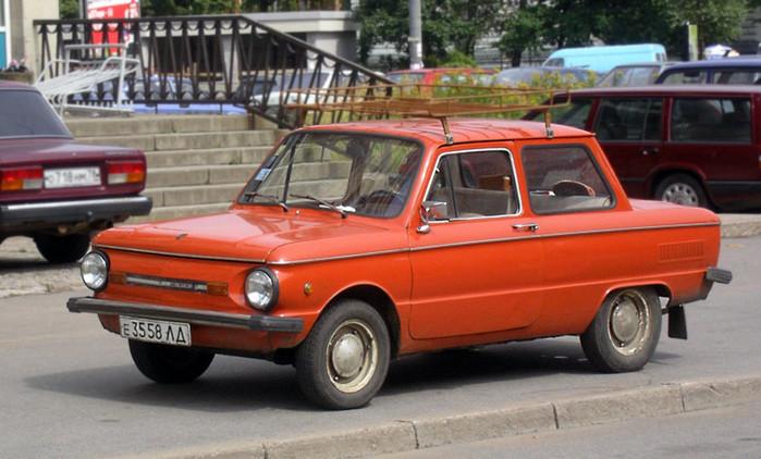 Автомобиля отечественной марки заз