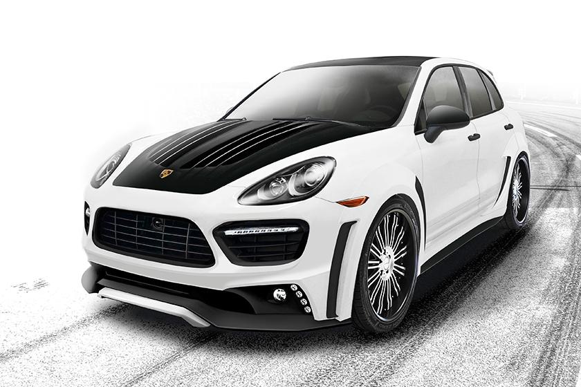Porsche cayenne predprinimately