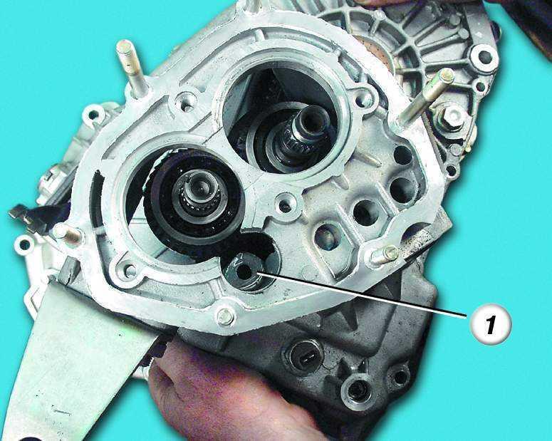 Фото №8 - демонтаж коробки передач ВАЗ 2110