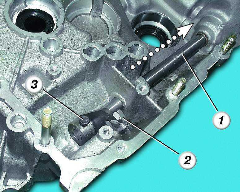 Фото №21 - демонтаж коробки передач ВАЗ 2110