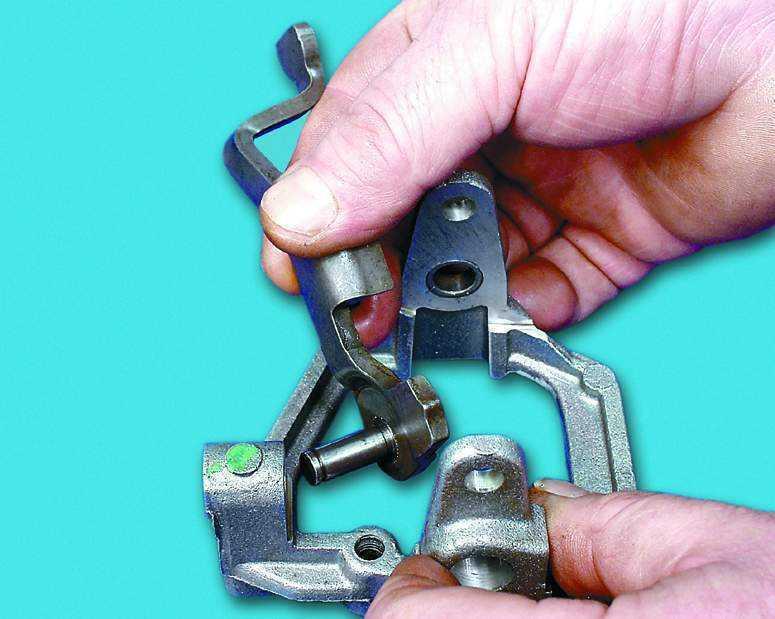 Фото №5 - принцип работы механизма выбора передач ВАЗ 2110