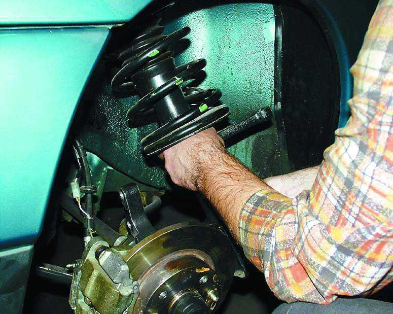 Фото №10 - как прокачать стойки ВАЗ 2110