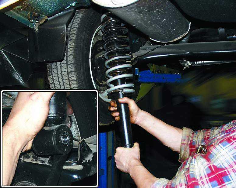 Фото №5 - диагностика подвески ВАЗ 2110 своими руками