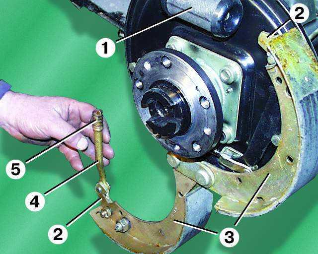 Как заменить задние тормозные колодки на газели