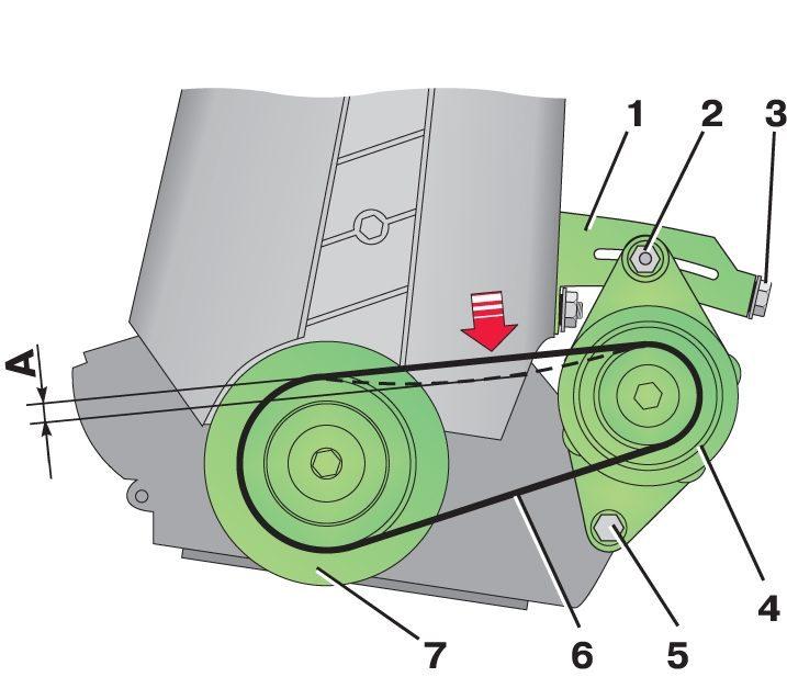 Как сделать натяжитель для генератора