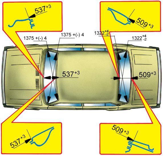 Ваз 2105 геометрия своими руками 902