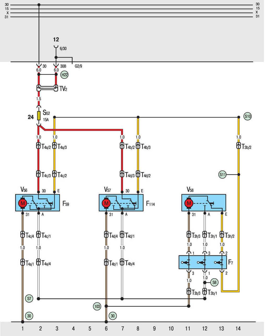 Электрическая схема фольксваген транспортер т4 транспортер поднимает за 1 час