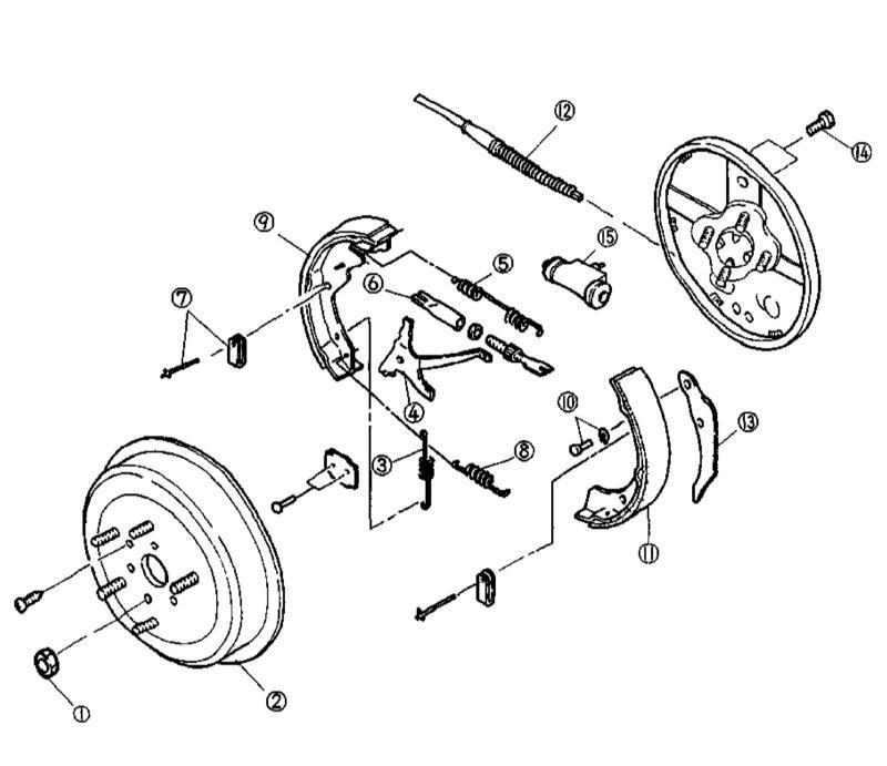 Замена задних тормозных колодок на киа спортейдж 3
