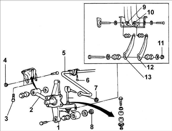 Хендай акцент ремонт своими руками передней подвески