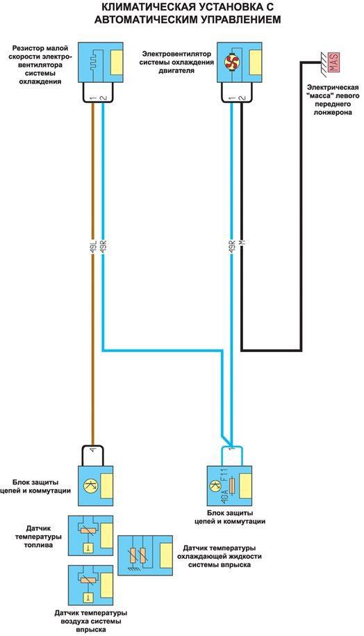 принципиальная схема подключения лямбда зонда рено дастер