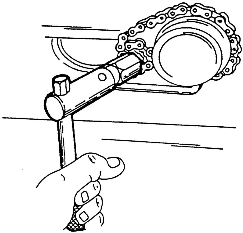 Ключ для масляного фильтра своими руками