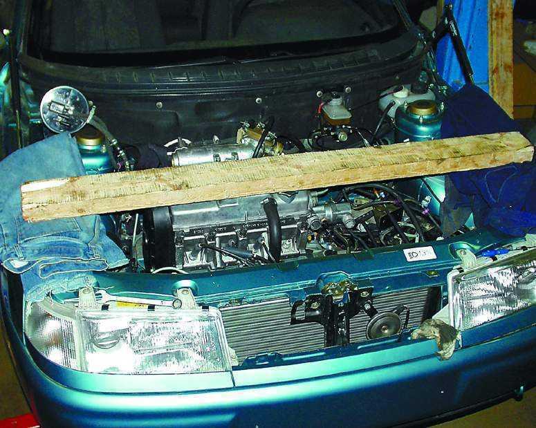 Установка двигателя ваз 2110 своими руками 3