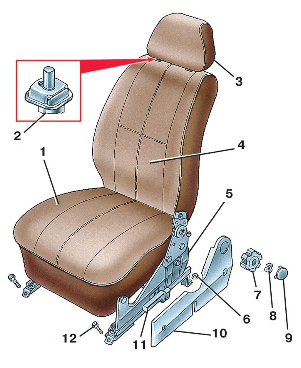 Крепление сидений своими руками 28