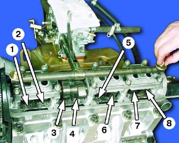 Как сделает клапаны ваз 2109 105