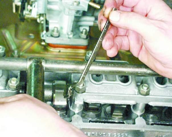 Как сделает клапаны ваз 2109 992
