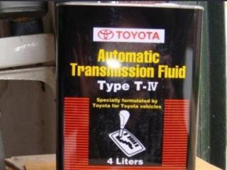 Замена масла в АКПП Тойота Королла 120 и 150