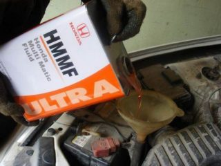 Как поменять масло в вариаторе Хонда Фит