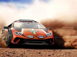Суперкар Huracan от Lamborghini получил внедорожную версию