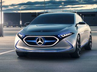 Новый электромобиль от Mercedes увидит свет в 2022 году