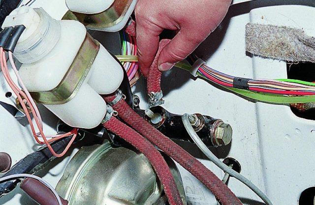 Ремонт главного цилиндра сцепления ваз 2107