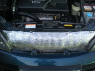 Стоит ли утеплять радиатор автомобиля