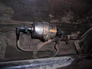 Как определить загрязнённость топливного фильтра без его демонтажа