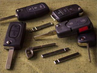 Назначение красной метки на ключе от автомобиля