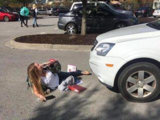 Как не стать жертвой автоподставы с участием пешехода