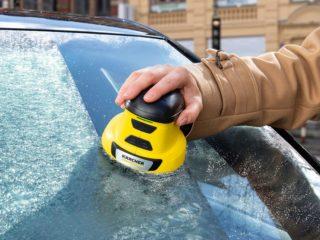 Немецкая новинка поможет очистить лёд с «лобовухи»