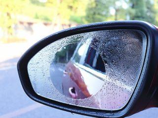 Как защитить боковые зеркала от слякоти