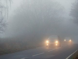 Как избежать аварии при движении в тумане