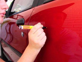 Как угадать с цветом маркера для подкрашивания сколов