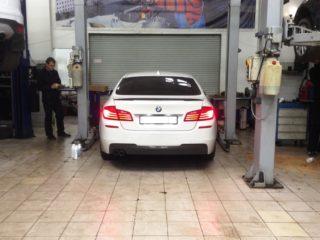 Замена масла в АКПП BMW F10 (БМВ Ф10)