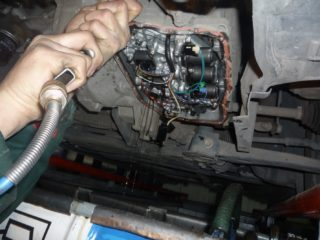 Замена масла в АКПП, МКПП Mitsubishi Galant (Мицубиси Галант)
