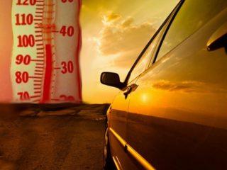Как летняя жара сказывается на автомобиле