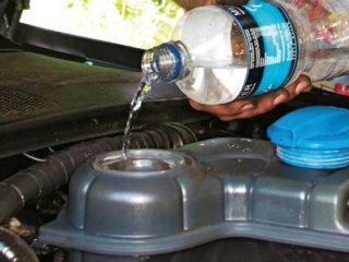 Что будет с двигателем, если заменить антифриз водой