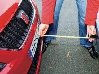 Соблюсти дистанцию на парковке помогут собственные пальцы