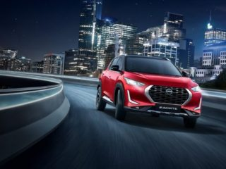 Новая модель кроссовера Magnite  представлена компанией Nissan