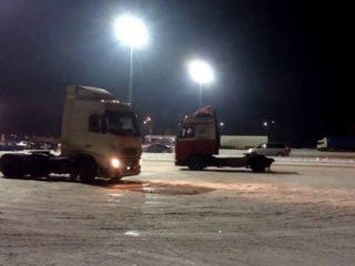 Снег в Аджарии: как ему радуются автомобилисты