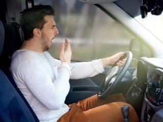 Как восстановить силы за рулем за 15 минут