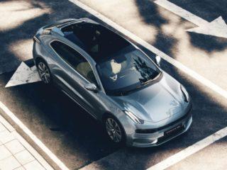 Автоконцерн Geely показал первую модель в премиальном сегменте под брендом Zeekr