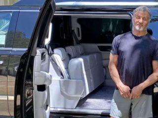 Какую машину выставил на продажу Сильвестр Сталлоне?