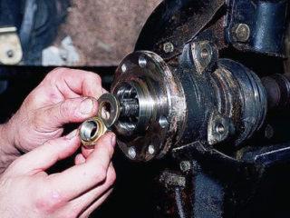 Замена заднего и переднего ступичного подшипника на ВАЗ-2112