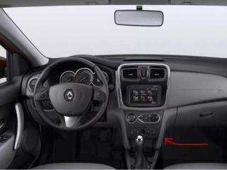 Замена фильтра салона на Renault Sandero (Рено Сандеро) 1, 2
