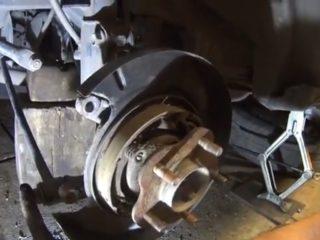 Замена переднего, заднего ступичного подшипника в Ниссан Х-Трейл т30, т31, т32